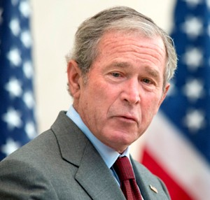 George W. Bush may have taken Google's help for his paintings