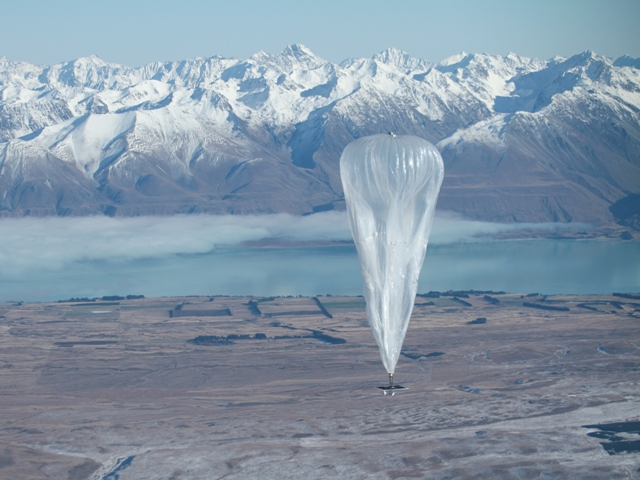 Google balloon to provide fast Internet in remote areas