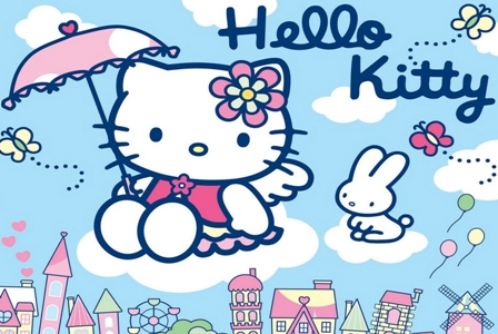 Hello Kitty is a 'girl' not a 'cat'