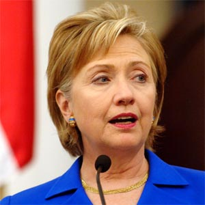 US laying foundation for indispensable partnership with India: Clinton<br />