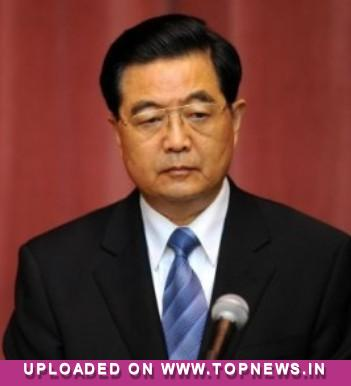 "Hu Jintao shrugs off Senate majority leader Harry Reid's ""dictator"" claims"