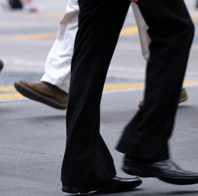 Learn how humans walk