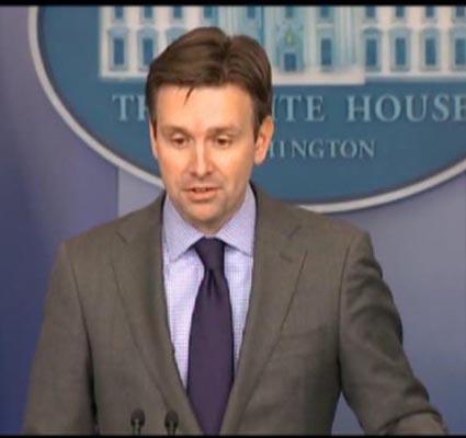 White House Press Secretary, Josh Earnest