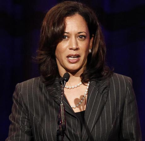 Kamala Harris wins major endorsement for the Senate bid
