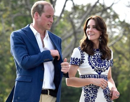 Duke, Duchess of Cambridge'a snap 'glows' on thank you card