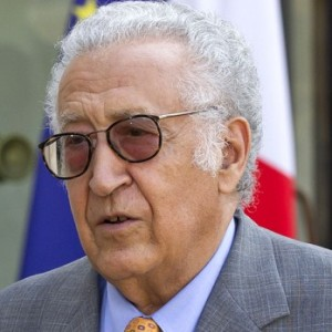 UN peace envoy Brahimi says Syria 'being destroyed bit by bit'