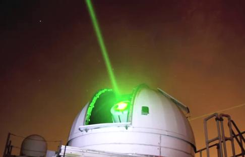 Scientists set to laser-blast orbiting space debris