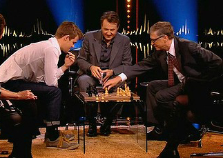 World's best chess player checkmates 'genius' Bill Gates in nine moves flat!
