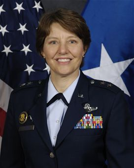 'Brass ceiling' breached with appointment of first woman to lead US Air Force Academy