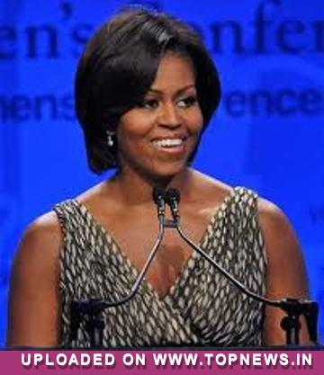 Michelle Obama reveals daughter's party clothes left President gulping!