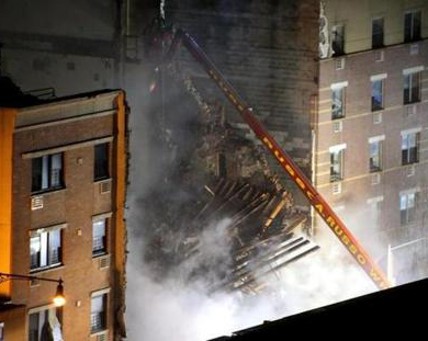 New York buildings collapse: Toll rises to four
