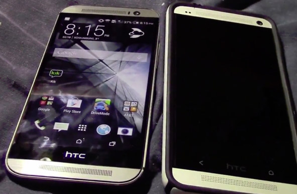 Leaked video compares upcoming HTC One to current smartphone