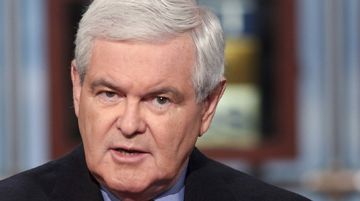 Gingrich says 'radical' Obama should be 'sign of concern for Israel'