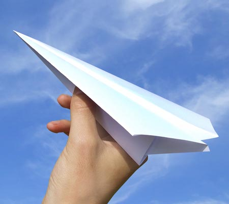 Paper plane launched from 96,563 foot altitude sets new Guinness World Record