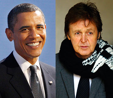PaulMcCartney obama