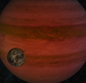 Possible exomoon found