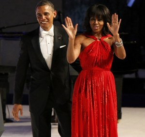 President and First Lady dance to `Let's Stay Together`