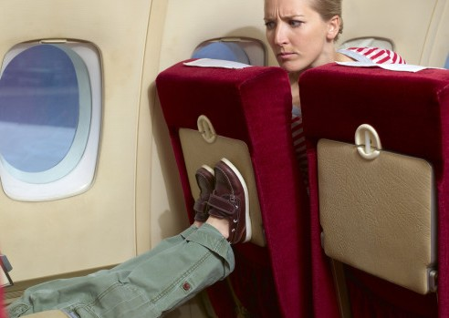 Seat kickers named most annoying airline passengers