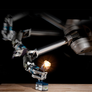Now, robots that use static electricity to pick up, transport objects