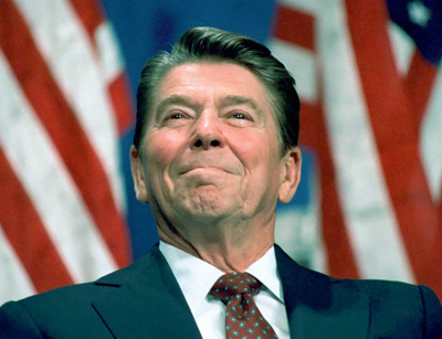 Ronald Reagan was concerned his son might be gay