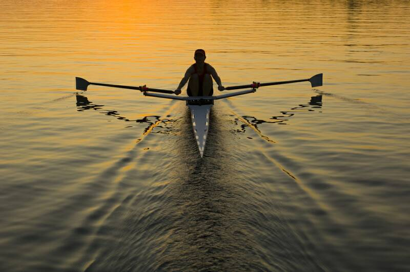 'Rowing' newest exercising trend