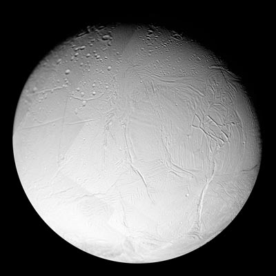 Subsurface ocean found on Saturn's moon Enceladus