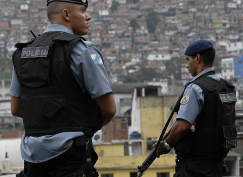 Spike in shooting of police officers in Rio with less than two weeks left before WC kick-off