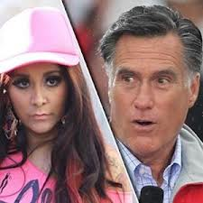Snooki and Mitt Romney attend Pacquiao-Marquez boxing match in Vegas