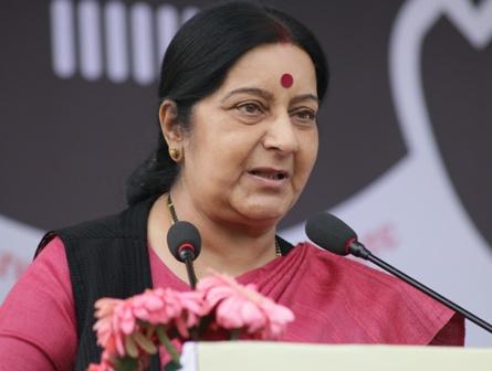 Sushma Swaraj to address UN General Assembly today