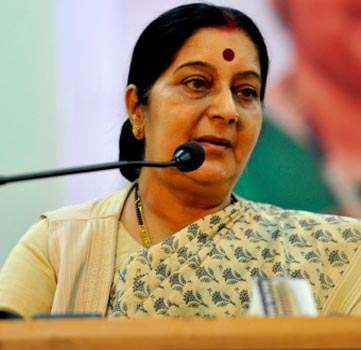 Pakistan `spoiled the talks` with India by talking to Hurriyat leaders: Sushma Swaraj