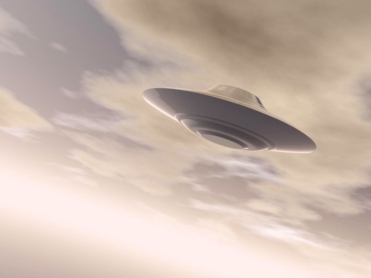 Ufo spotted in us after russian meteor strike