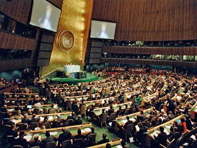 UN General Assembly adopts arms trade treaty