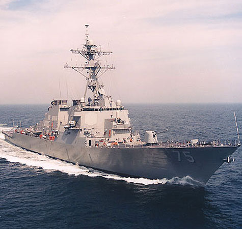 US sends Navy destroyer to Black Sea amid Ukraine crisis