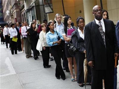 US unemployment rate rises