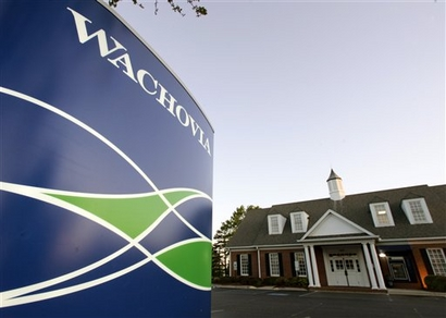 Wachovia – Up For Sale