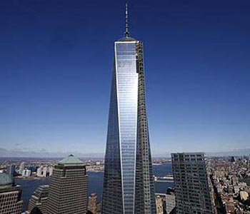 New York opens first World Trade Centre tower