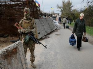 American monitor in Ukraine killed in explosion