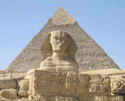 Ancient walls that protected Sphinx from desert winds uncovered