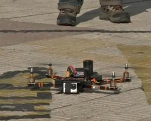 Bolivian man makes drone out of recycled materials from flea market