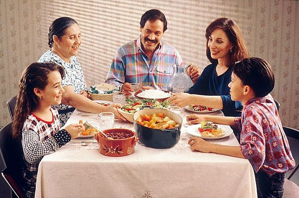 Family meals adequate sleep limited tv may cut childhood obesity
