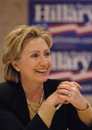 Superior Hillary Clinton