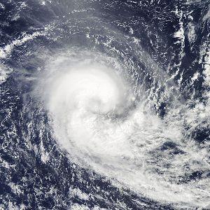 Aerosols in atmosphere tend to weaken hurricanes and cyclones