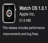 Apple Watch gets first ever update post launch