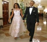Obama spends Valentine's Day away from Michelle Obama again