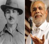 PM Modi remembers Bhagat Singh in his address