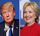 Trump's campaign spends zero on ads, Clinton spent millions