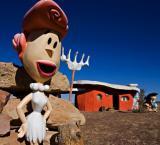 Now you can own Flintstones Bedrock City Theme Park for USD 2M