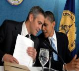 Prez Obama asked George Clooney for basketball