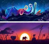 Google marks Earth Day with 5 major biomes' doodles