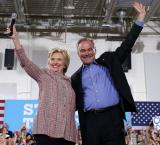 Hillary Clinton picks Tim Kaine as running mate